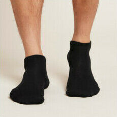 Boody Men's Low Cut Socks - Black