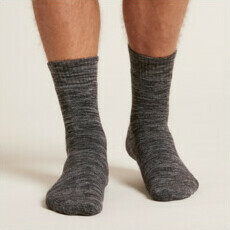 Boody Men's Work/Boot Socks - Grey Space Dye