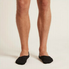 Boody Men's Hidden Socks - Black