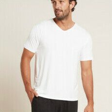 Boody Men's V-Neck T-Shirt - White