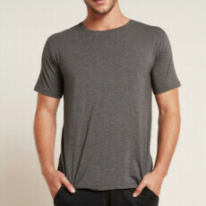 Boody Men's Crew Neck T-Shirt - Dark Marl