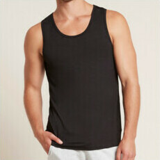 Boody Men's Singlet - Black