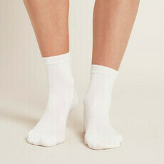 Boody Women's Everyday Ankle Socks - White