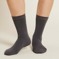 Boody Women's Everyday Sock - Slate