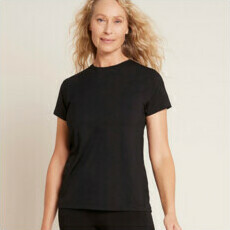 Boody Women's Crew Neck T-Shirt - Black