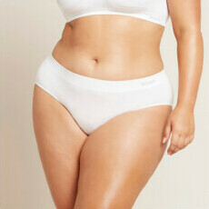 Boody Midi Brief - White