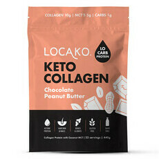 Locako Keto Collagen - Chocolate Peanut Butter