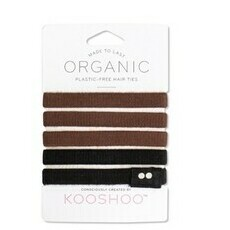 KOOSHOO Hair Ties - Brown/Black