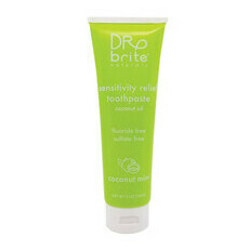 Dr. Brite Sensitivity Relief Toothpaste - Coconut Mint