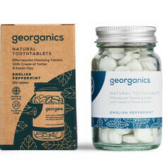 Georganics Natural Toothtablets - English Peppermint