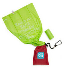 Onya Dog Waste Disposable Bags & Carry Pouch