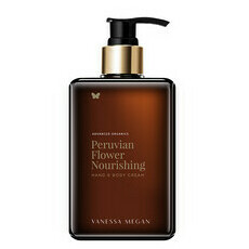 Vanessa Megan Peruvian Flower Nourishing Hand & Body Cream