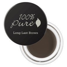 100% Pure Long Last Brows - Medium Brown