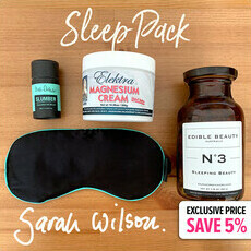 "Sarah Wilson's Exclusive ""Sleep Pack"""