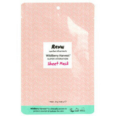 Raww WildBerry Harvest Super Hydration Sheet Mask