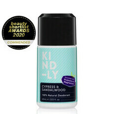 KIND-LY 100% Natural Deodorant - Cypress & Sandalwood