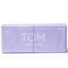 TOM Certified Organic Tampons - Super