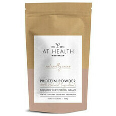 At Health Australia Naturally Cacao Grass-Fed Whey Protein