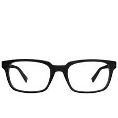 Blue Light Glasses Crane Matte Black