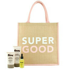 Raww Super Good Tote Skincare Pack