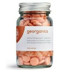 Georganics Mouthwash Tablets - Orange