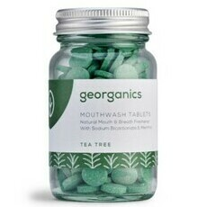 Georganics Mouthwash Tablets - Tea Tree