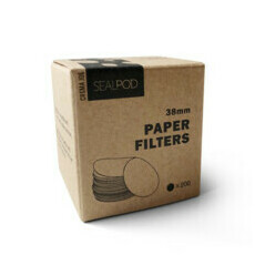 SealPod 38mm Paper Filters - 200