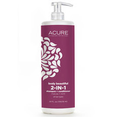 Acure Body Beautiful 2-in-1 Shampoo & Conditioner