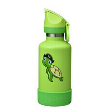 Cheeki 400ml Insulated Kids Bottle - Taj the Turtle