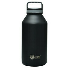 Chiller Insulated Water Bottle Black 1.9L