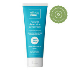 Natural Clear Zinc Sunscreen SPF50+
