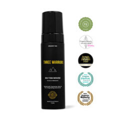 Three Warriors Self-Tan Mousse