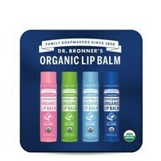 Dr. Bronner's Limited Edition Lip Balm Tin with Peppermint
