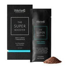 WelleCo Super Booster - Men's Libido + Endurance