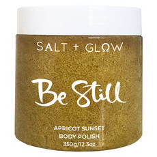 Salt & Glow Body Polish - Be Still (Apricot Sunset)