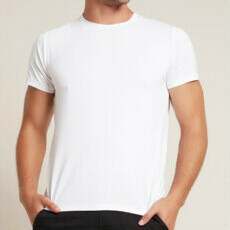 BOODY Mens Crew Neck T-Shirt - White