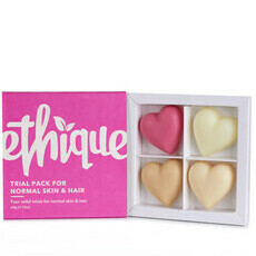 Ethique Gift Trial Pack for Normal Skin & Hair
