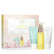 KORA Organics Daily Ritual Kit - Oily/Combination Skin