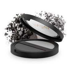 Inika Pressed Mineral Eyeshadow Duo - Platinum Steel