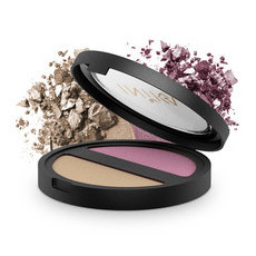 Inika Pressed Mineral Eyeshadow Duo - Plum Pearl