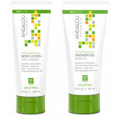 Andalou Naturals Citrus Sunflower Uplifting Body Lotion