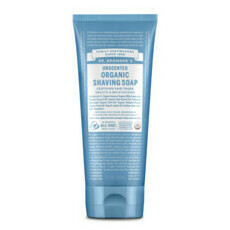 Dr Bronner's Organic Shaving Soap - Unscented