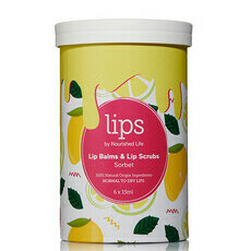 Lips by Nourished Life Lip Balms & Scrubs - Sorbet