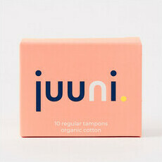 Juuni Organic Cotton Regular Tampons