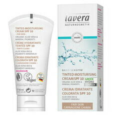 Lavera Basis Sensitiv Tinted Moisturising Cream SPF 10