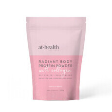 At Health Australia Radiant Body Protein Powder with Collagen - Vanilla Bean + Collagen
