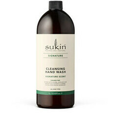 Sukin Cleansing Hand Wash - Signature 1 Litre Refill
