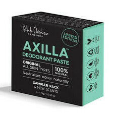 Black Chicken Axilla™ Natural Deodorant Paste Original - Sampler Pack