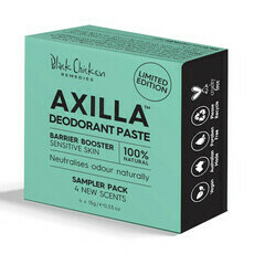 Black Chicken Axilla™ Natural Deodorant Paste Barrier Booster - Sampler Pack