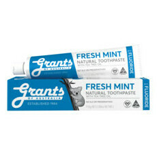 Grants Fresh Mint with Fluoride Toothpaste
